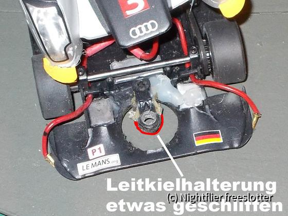 Slot.it LMP und Frankenslot Leitkiel 02