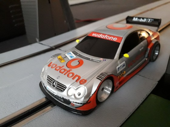 AMG DTM Mercedes auf Carbon Chassis