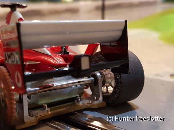 ASRC Mini-Z Ferrari F2003-GA Heck
