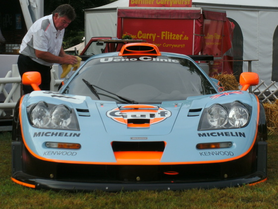 Classic Days 2013 - McLaren Gulf