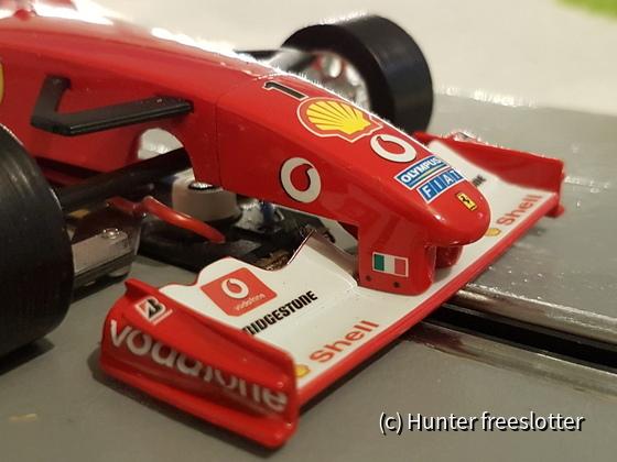 ASRC Mini-Z Ferrari F2003-GA Front