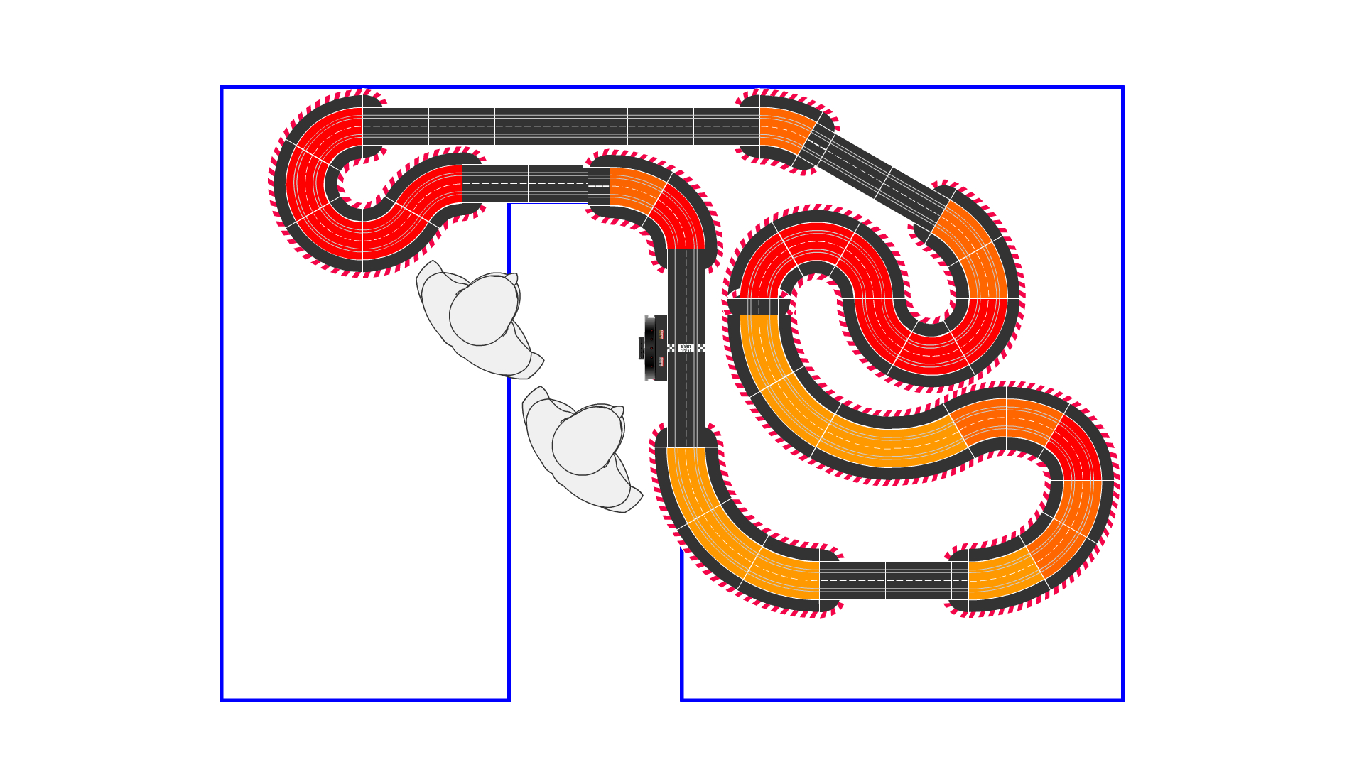 Layout mit speziellen Maßen gesucht - Bahnplanung - freeslotter
