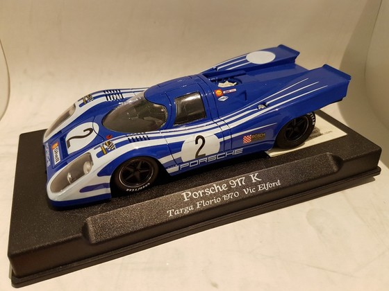 NSR Porsche 917K blue strips white #2 - Targa Florio 1970 Vic Elford