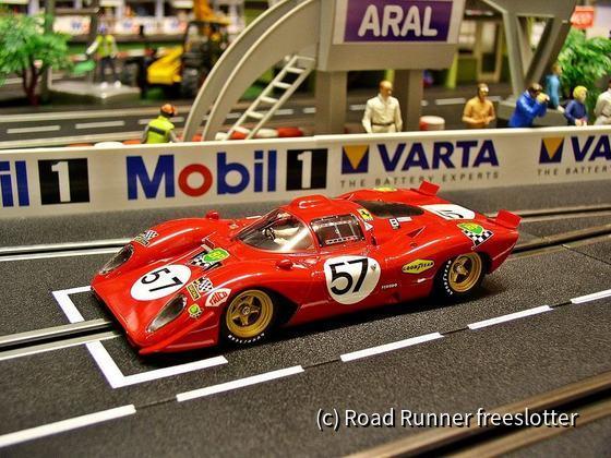 Racer Ferrari 312P, Le Mans 1970