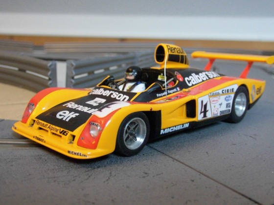 LeMansMiniatures No. 132038-4 - Renault Alpine A442 - LM 1978 - No. 4
