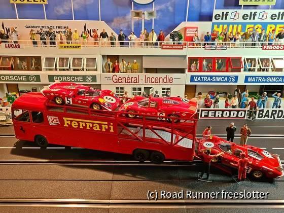 VRC&G, Fiat Bartoletti 306/2, Scuderia Ferrari, Le Mans 1970