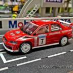 Scalextric Mitsubishi Lancer Evolution 7 WRC