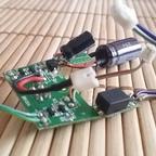 Carrera Evo-Decoder mit zusätzlichem Kondensator
