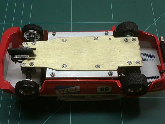 Eigenbaufahrwerk BRM Simca 02