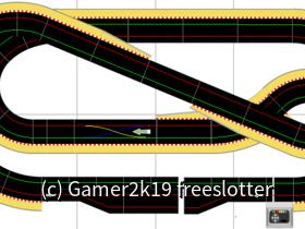 2,92mx1,44m Scalextric Sport Digital