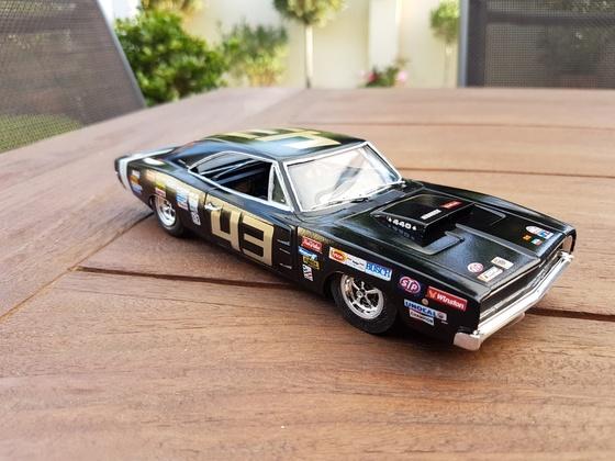 1968'er Dodge Charger RT als Stock-Car