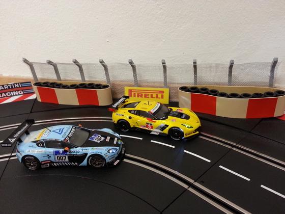 Corvette C7.R und Aston Martin V12 GT3