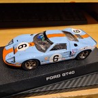 Scalextric Ford GT40 Gulf