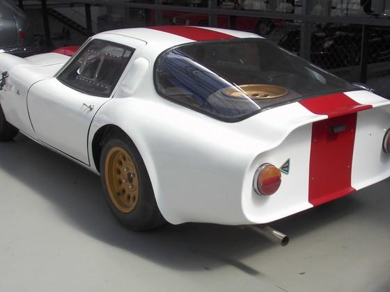 Alfa Romeo TZ - aufgenommen in der Classic Remise in Düsseldorf, Juli 2015