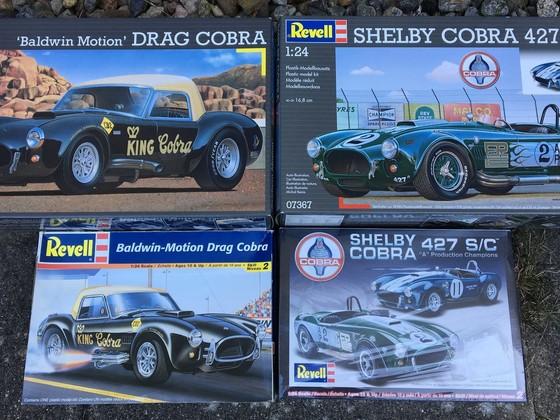 Cobra Kits - Ausfuehrungen