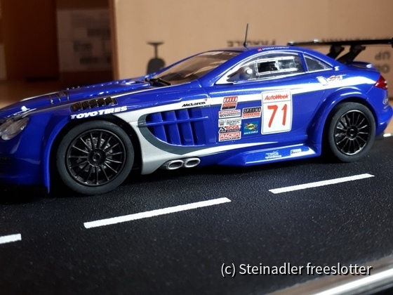 "Mercedes-Benz SLR McLaren 722 GT, CBR/TRG Motorsports ""No. 71"" 2009"