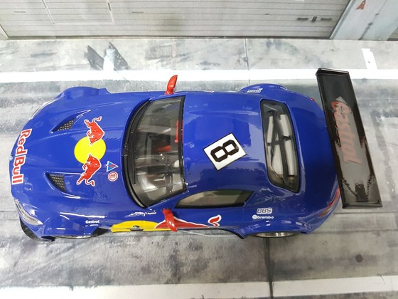 NSR BMW Z4 Testcar - Red Bull