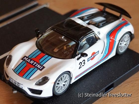 Carrera 27467 - Porsche Spyder 918 Martini Racing