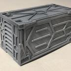 3D-Druck Container für die Beleuchtungselektronik