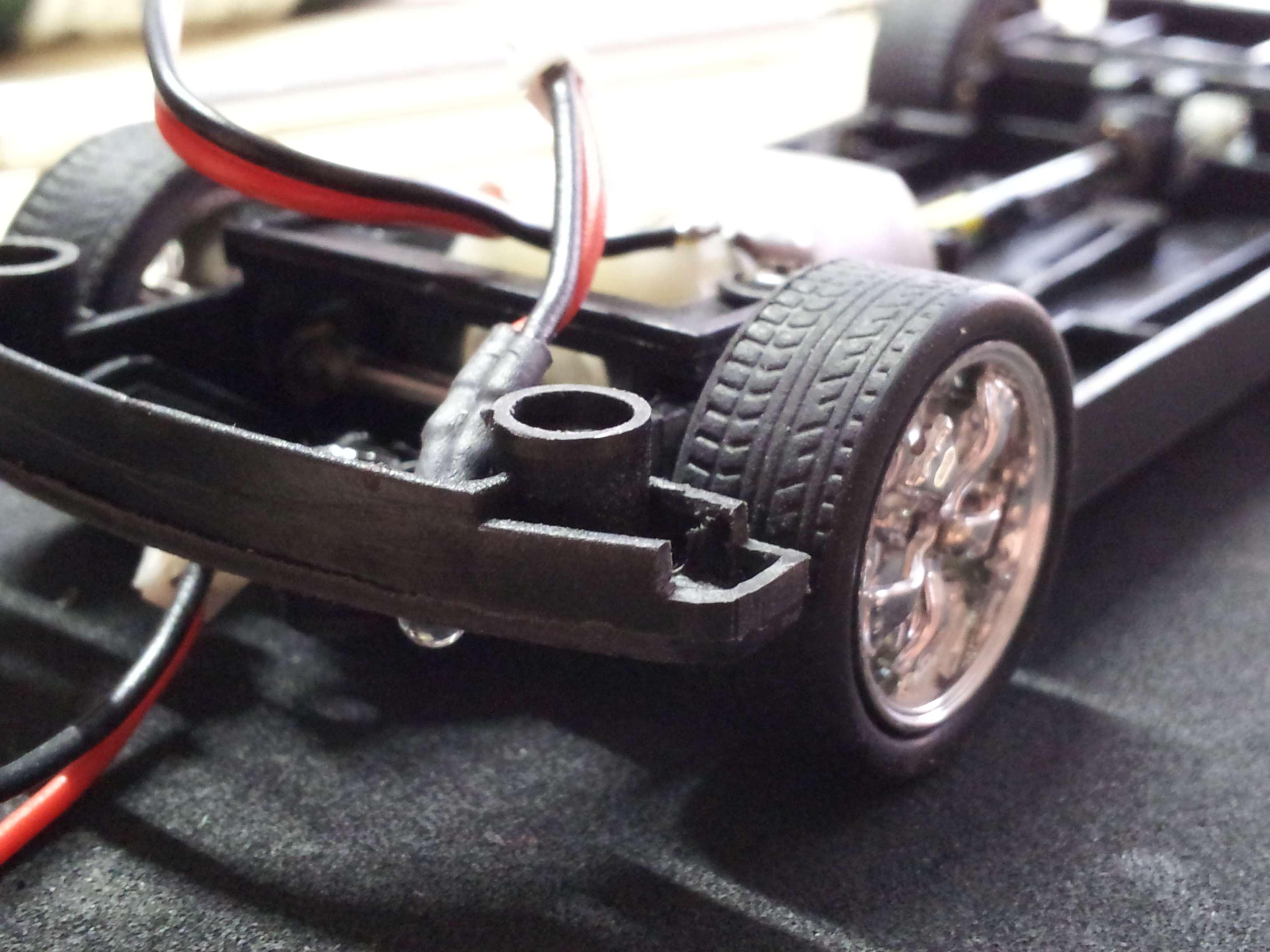 Carrera Pontiac GTO 66\' - Umbaubericht Achsen, Räder + Digitalumbau ...