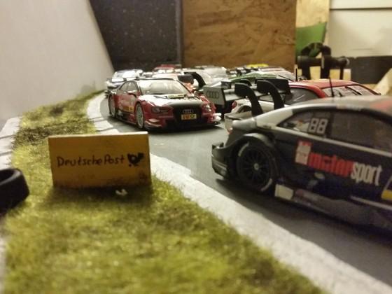Kleines DTM Diorama
