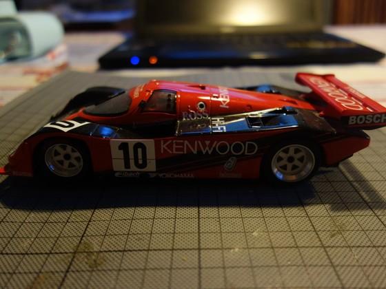 BRM Porsche 962C Kenwwod #10 Seite