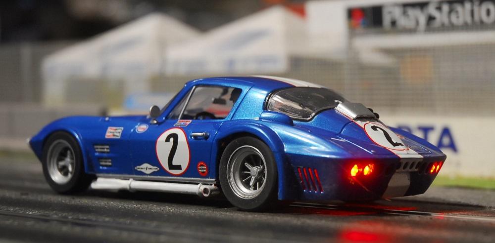 Modifizierte Carrera 124 Corvette