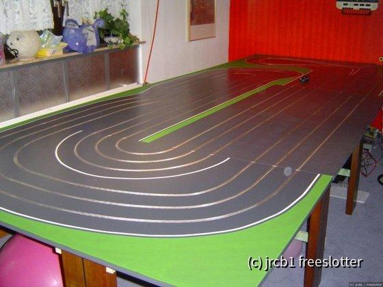 Holzbahn Greenfield Raceway