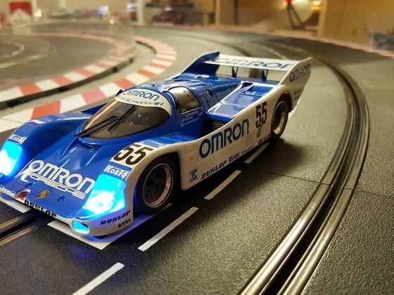 Umbau BRM Porsche 962C