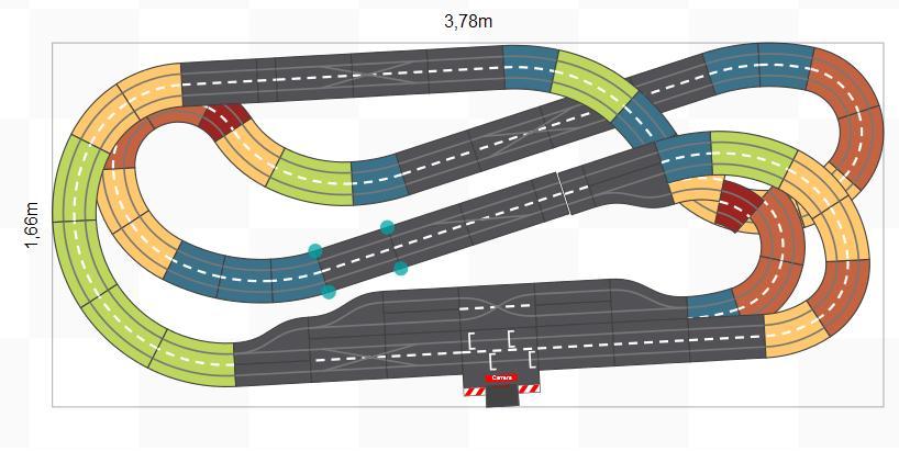 Freeslotter Streckenvorschlag Digital 124